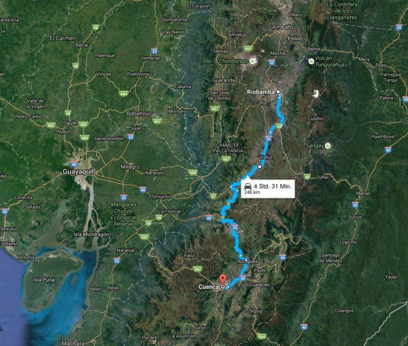 Tag 8 Riobamba-Cuenca